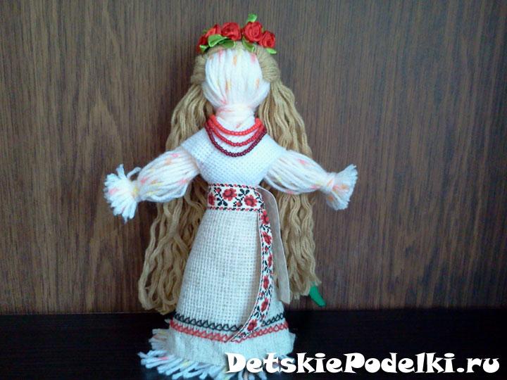 Кукла мотанка из ниток своими руками 96