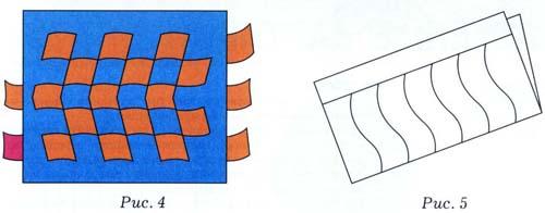 Коврик из бумаги плетение схемы