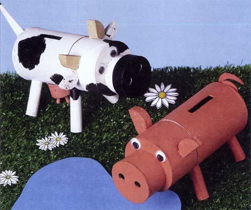 Поделки своими руками корова