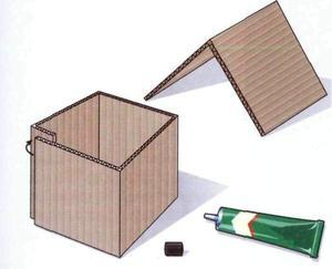 Поделка домик из веточек своими руками схема 67